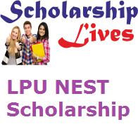 LPU NEST Scholarship