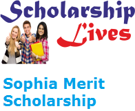 Sophia Merit Scholarship