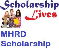 MHRD Scholarship