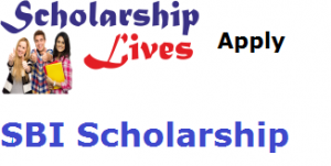 SBI Scholarship