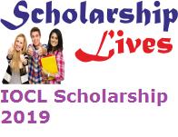 IOCL Scholarship 2019