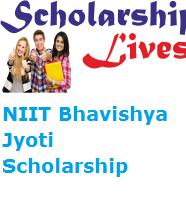 NIIT Bhavishya Jyoti Scholarship
