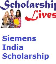 Siemens India Scholarship