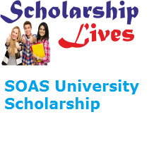 SOAS University PG Scholarship