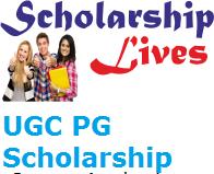 UGC PG Scholarship