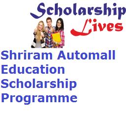 Shriram Automall Education Scholarship Programme