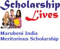 Marubeni India Meritorious Scholarship