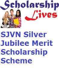 SJVN Silver Jubilee Merit Scholarship Scheme