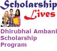 Dhirubhai Ambani Scholarship Program
