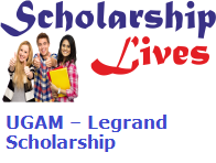 UGAM – Legrand Scholarship