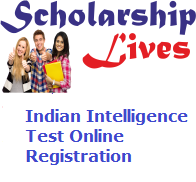 Indian Intelligence Test Online Registration