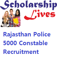 Rajasthan Police 5000 Constable Recruitment