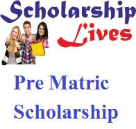 Pre Matric Scholarship Meghalaya