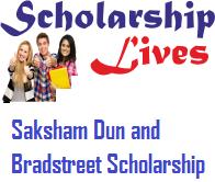 Saksham Dun and Bradstreet Scholarship