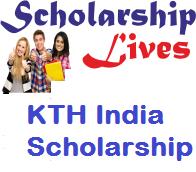 KTH India Scholarship