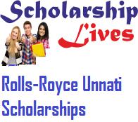 Rolls-Royce Unnati Scholarships