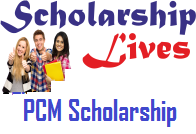 PCM Scholarship