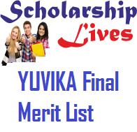 YUVIKA Final Merit List
